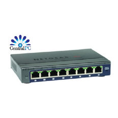 NETGEAR Prosafe plus 8-port gigabit Ethernet Switch GS108E