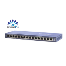 NETGEAR Prosafe Desktop Switch with 8 Port PoE FS116P