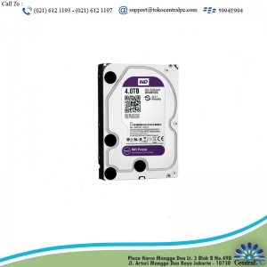 HARDISK WDC PURPLE 6TB FOR CCTV