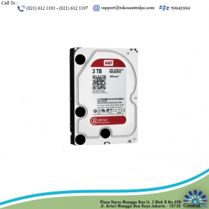 HARDISK WDC 3TB RED 3.5