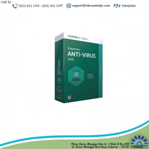 ANTIVIRUS KASPERSKY 2016 ( 3 USER )