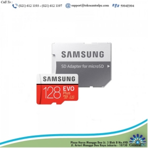 Samsung Micro SD 128GB SDXC EVO Plus