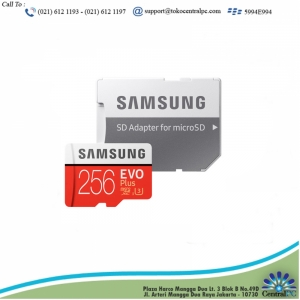 Samsung Micro SD 256GB SDXC EVO Plus