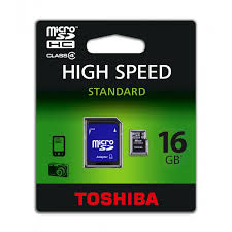 Toshiba 16Gb Micro SD CL 4 Card