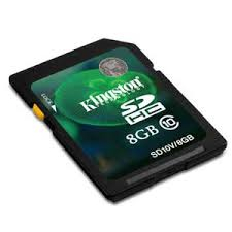 Kingston 8Gb SDHC